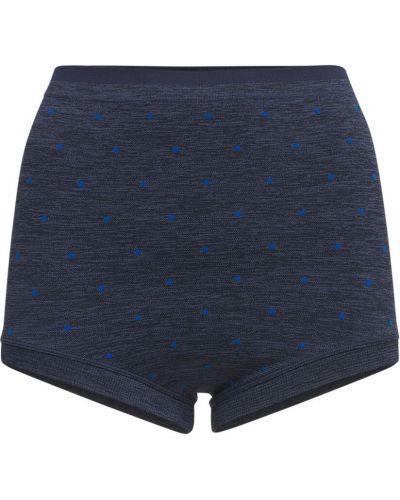 Бесшовные синие шорты Splits59