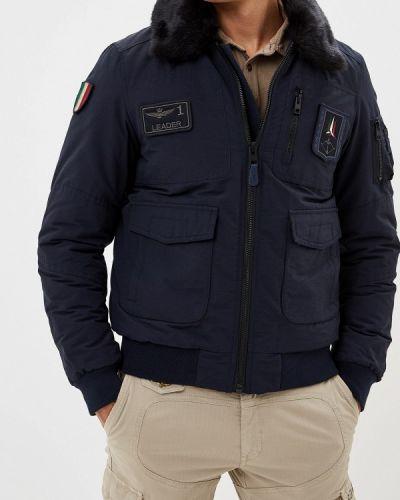 Зимняя куртка утепленная осенняя Aeronautica Militare