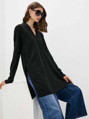 Черная блузка с длинными рукавами Max Mara Leisure