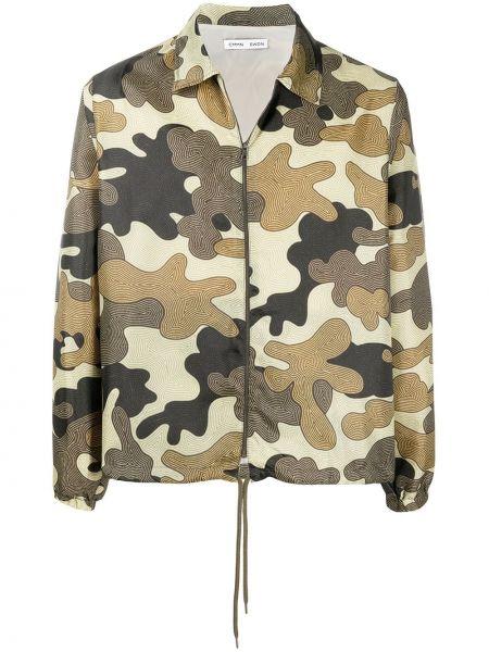 Мешковатая облегченная куртка на молнии с воротником Cmmn Swdn