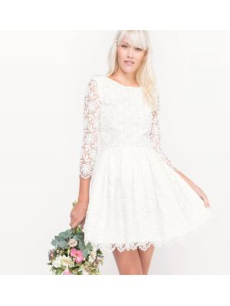Платье мини миди свадебное La Redoute Collections