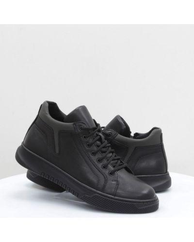 Кожаные ботинки - черные Vadrus