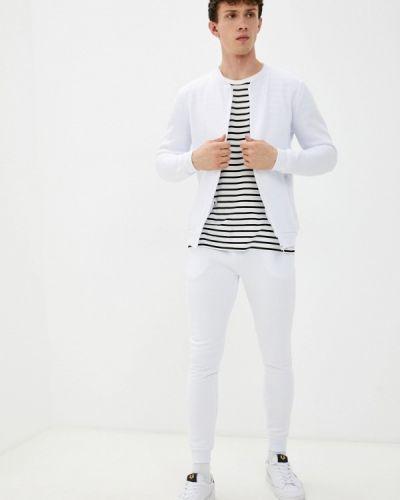 Белый весенний спортивный костюм Brave Soul