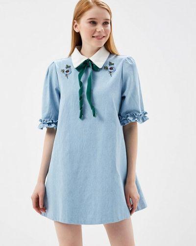 Голубое платье джинсовое Sister Jane