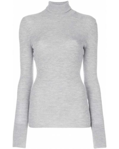 Серый свитер в рубчик Barbara Bui
