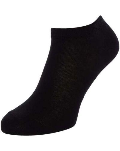 Czarne skarpety bawełniane Falke