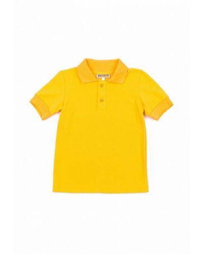 Поло желтый Welkin