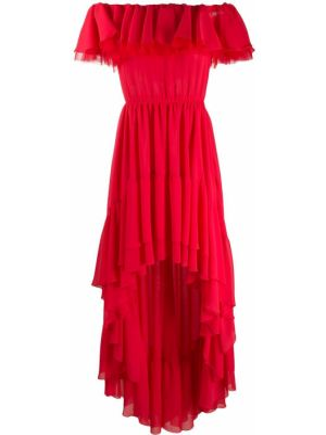 Sukienka mini asymetryczna krótki rękaw Giamba
