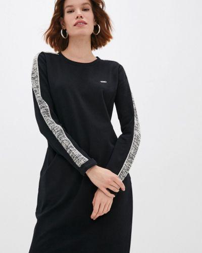 Черное спортивное платье Liu Jo Sport