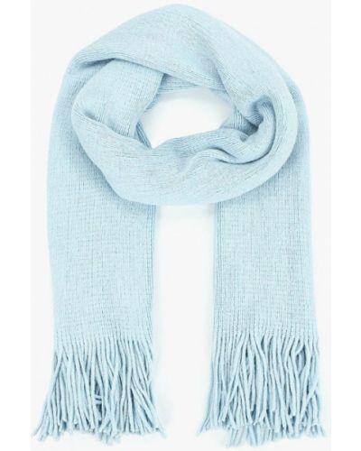 Голубой шарф осенний Befree