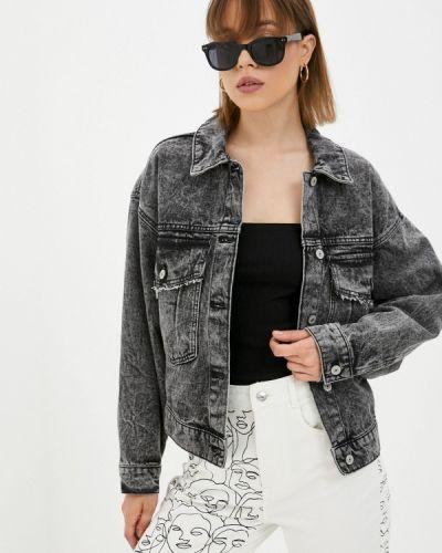 Джинсовая куртка - серая Pimkie
