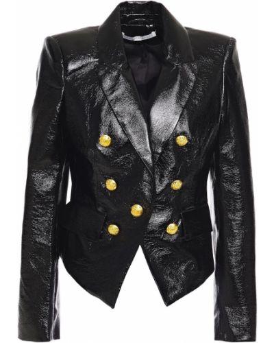 Черный пиджак с подкладкой на пуговицах Veronica Beard