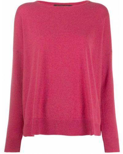 Розовый джемпер со спущенными плечами Incentive! Cashmere