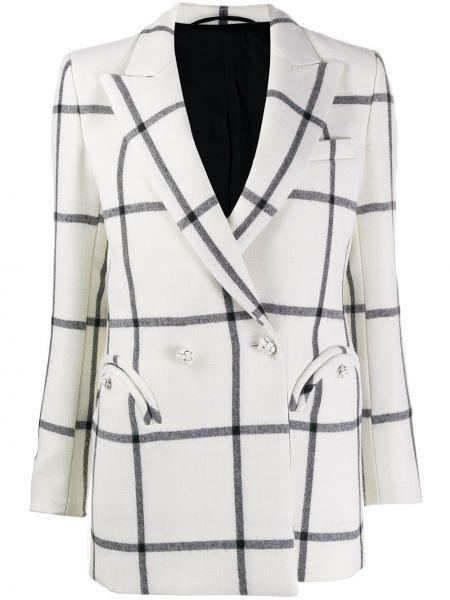 Приталенная куртка на пуговицах с воротником с лацканами Blazé Milano