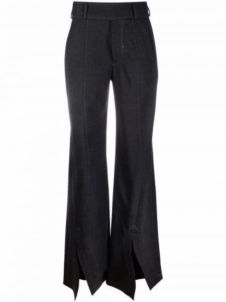 Черные брюки из спандекса Ssheena
