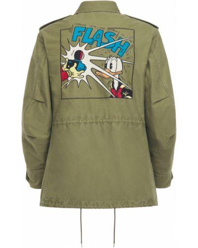 Ватная стеганая кожаная куртка Gucci