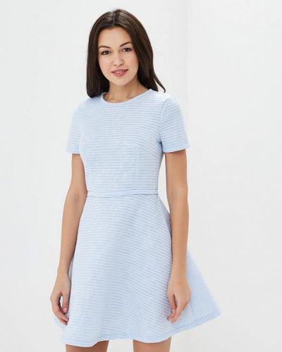 Голубое платье весеннее Incity