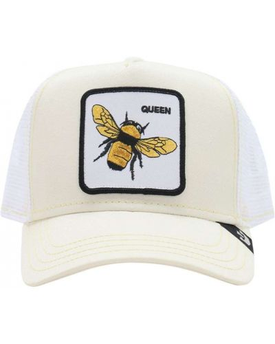 Biała czapka z siateczką Goorin Bros