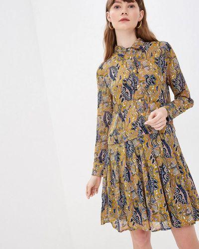 Джинсовое платье прямое весеннее By Swan
