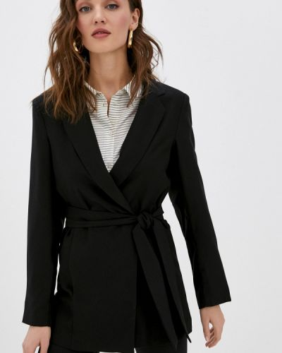 Черный пиджак Zabaione