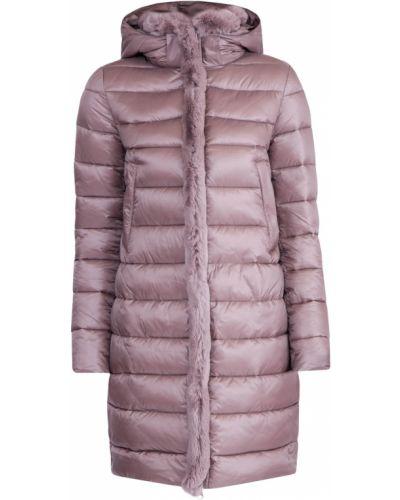Пуховая куртка - розовая Cudgi
