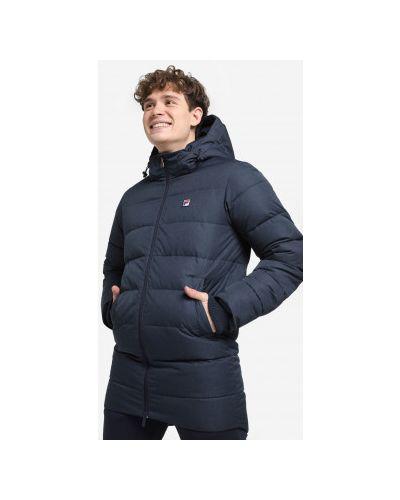 Куртка с капюшоном - синий Fila