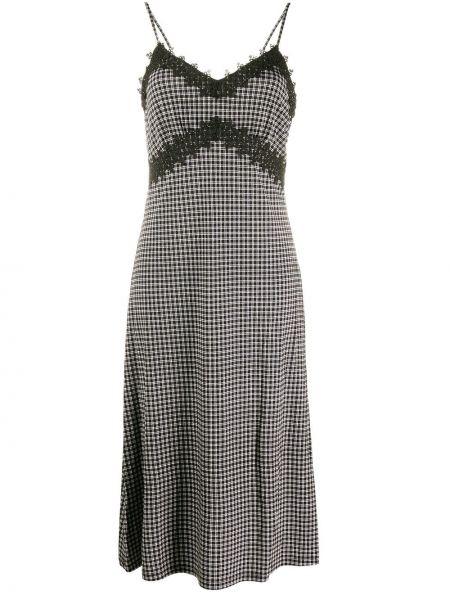 Платье на бретелях с V-образным вырезом Michael Michael Kors