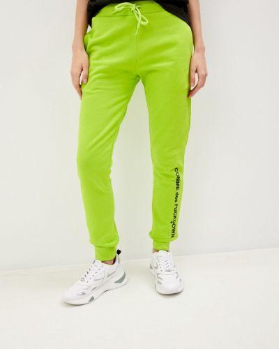 Зеленые спортивные брюки Comme Des Fuckdown