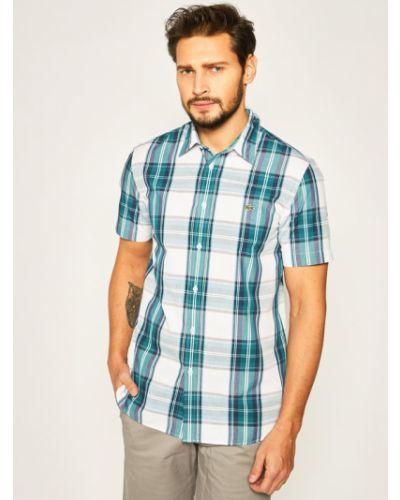 Zielona koszula Lacoste
