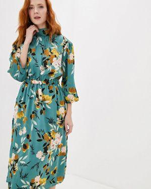 Платье бирюзовый прямое With&out
