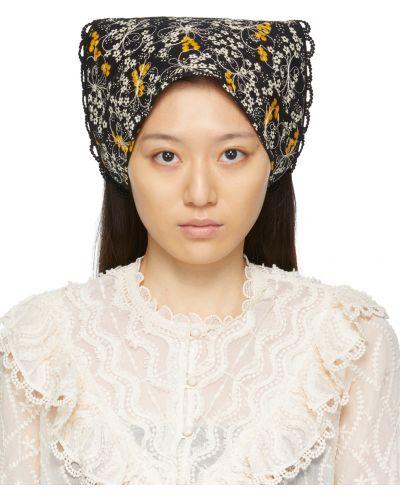 Szalik bawełniany - biały Anna Sui