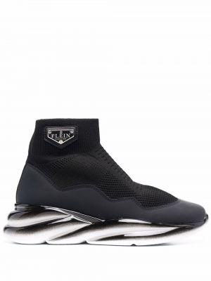 Носки с логотипом - черные Philipp Plein