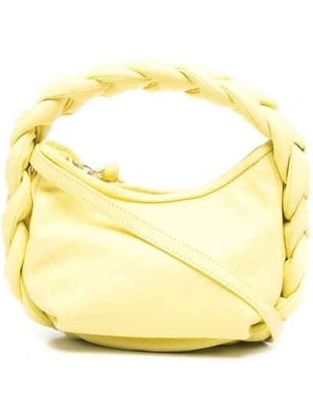 Żółta torebka skórzana Hereu