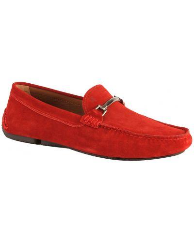 Кожаные мокасины - красные Fratelli Rossetti