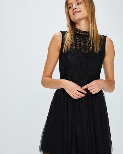 Платье мини расклешенное с узором Answear