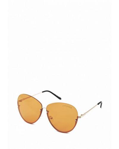 Солнцезащитные очки золотой Luckylook