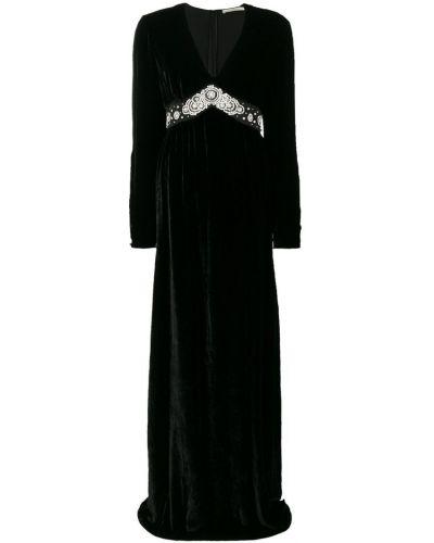 Вечернее платье с V-образным вырезом с вырезом Amen.