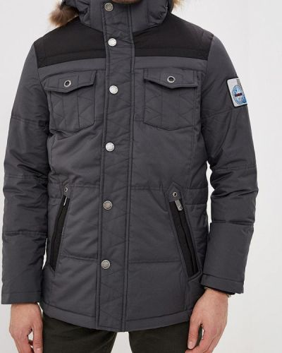 Зимняя куртка осенняя серая Colin's
