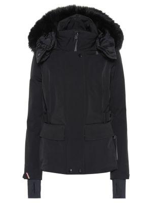 Зимняя куртка утепленная черная Moncler Grenoble