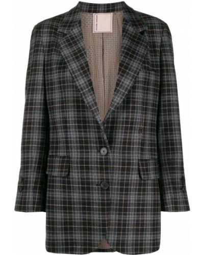 Пиджак в полоску приталенный Antonio Marras