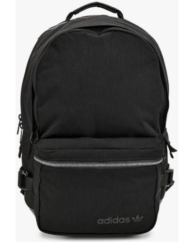 Текстильный черный рюкзак Adidas Originals