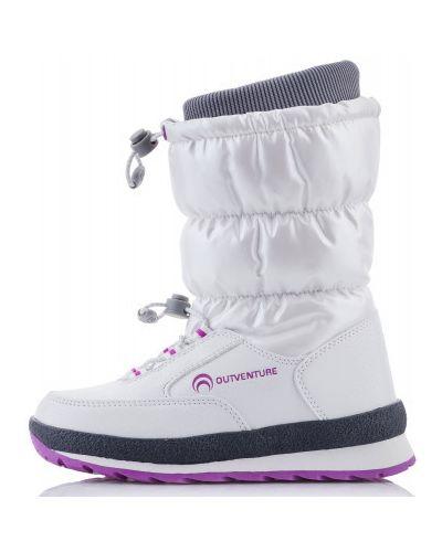 Кожаные сапоги на шнуровке с мехом Outventure