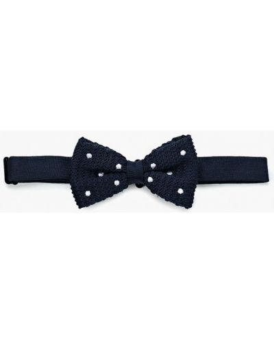 Синий галстук-бабочка Piazza Italia