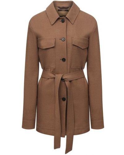 Шерстяной пиджак - бежевая Windsor