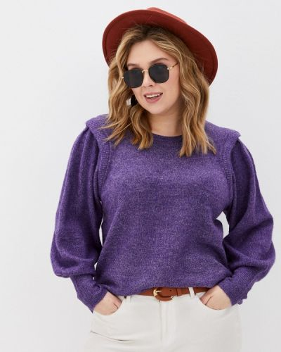 Фиолетовый джемпер Zizzi