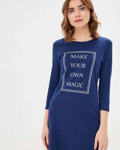 Платье - синее Dianida