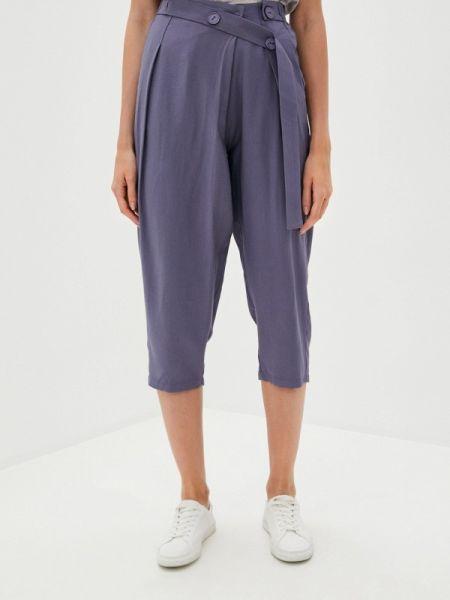 Синие юбки-брюки брюки осенние B.style