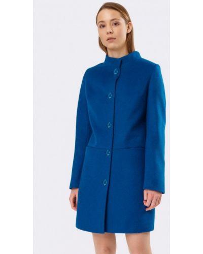 Синее пальто с капюшоном Cat Orange