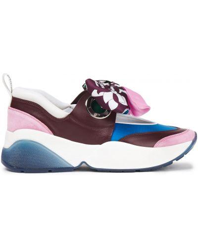 Sneakersy skorzane Emilio Pucci