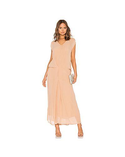 Платье со складками из вискозы Mes Demoiselles